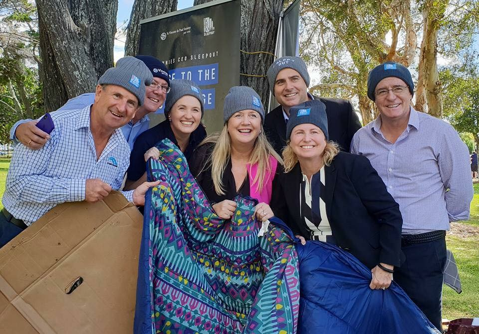 June 21st 2018 Vinnie Gold Coast CEO Sleep out